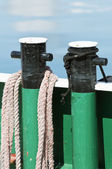 Mooring bitt — Stock Photo