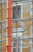 Building under renovation — Stock Photo