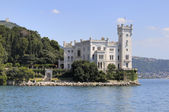 Miramare Castle in Trieste (Italy) — Stock Photo