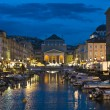 Trieste - Ponterosso - Stock Photo