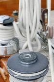 Tools of a sailboat — Stock Photo
