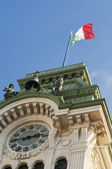 Trieste Town Hall detail — Stock Photo