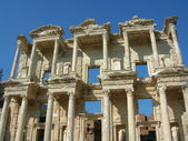 Celsiova knihovna efesu, turecko — Stock fotografie