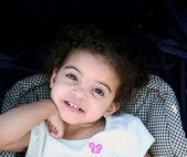 Toddler Girl Smile — Stock Photo
