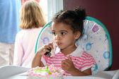 Birthday Toddler Girl — Stock Photo