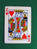 King of Hearts — Stock Photo
