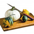 Stock Photo: Still life of garden harvest