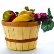 Fruit basket still life — Stock Photo