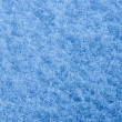 Blue snow for a textured background — Stock Photo