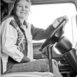 Big rig cab from passenger side view. — Stock Photo #1986748