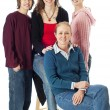 Royalty-Free Stock Photo: Family portrait