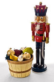 Guarding the fruit basket — Stock Photo