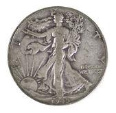 Liberty half-dollar from USA — Stock Photo