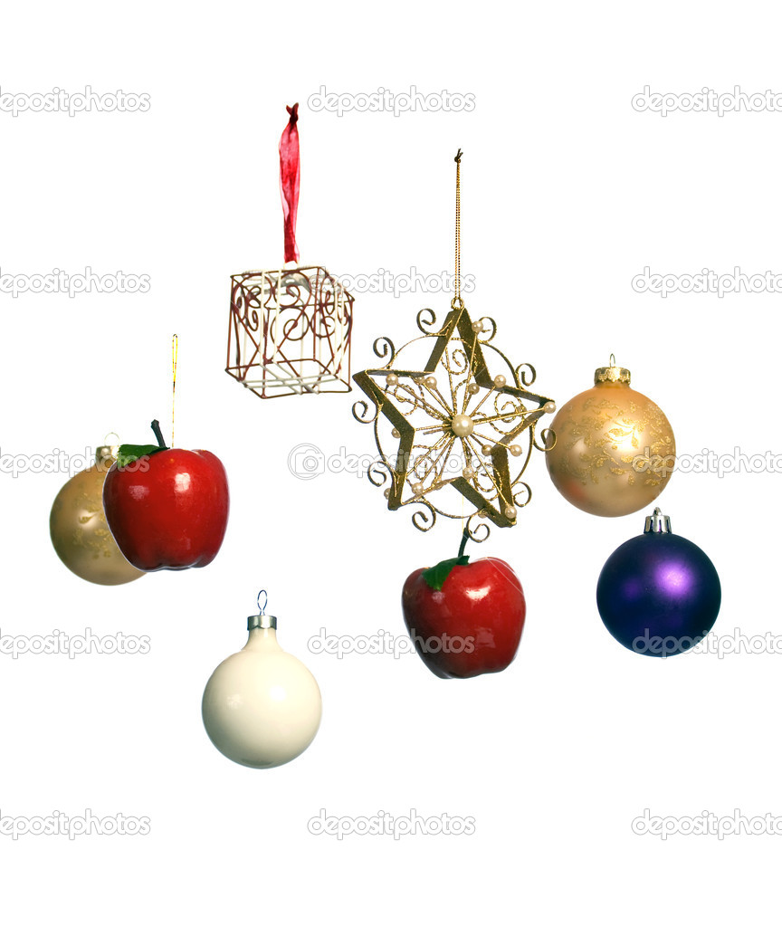 Unusual Christmas ornaments — Stock Photo #1987781