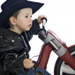 Royalty-Free Stock Photo: Baby Easy Rider