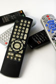 Stake of Remote Controls — Stock Photo