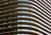 Architectural Abstract with curves — Stock Photo