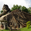 Buddha statue in laos — Stock Photo
