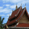 Buddhist temple in Luang Prabang,Laos — Stock Photo
