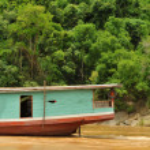 Boat at the mekong river — Stock Photo #2016176