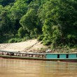 Boat at  the mekong river - Stock Photo