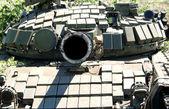 Russian tank T-72 — Stock Photo