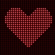 Royalty-Free Stock Vektorfiler: Valentine\'s day love heart