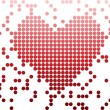 Royalty-Free Stock Imagem Vetorial: Digital Love Valentine\'s day