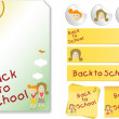 Royalty-Free Stock Immagine Vettoriale: Back to School  Kit