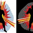 Royalty-Free Stock Imagen vectorial: Boxer Pop Art