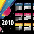 Royalty-Free Stock Vectorielle: Calendar 2010