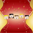 Royalty-Free Stock Vector Image: Choir with Ornaments