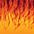 Flames Background - Imagen vectorial