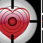 Target Heart — Stock Vector #1989989