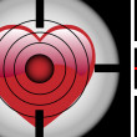 Target Heart — Stock Vector