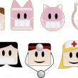 Royalty-Free Stock Imagen vectorial: Swine Flu