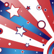 United States Background — Imagen vectorial