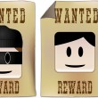 Royalty-Free Stock Vector Image: Wanted Sign