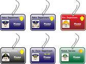 Police ID Card — Stock Vector