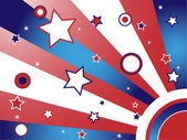 United States Background — Stock Vector