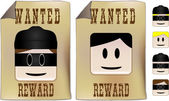 Wanted Sign — Stock Vector