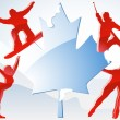 Royalty-Free Stock Vector Image: Canada Vancouver Winter Games 2010.