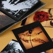Stockfoto: Photo Album with copy space