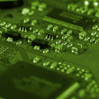 Electronic circuit board — Stock Photo #1977477