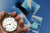 Pocket clock — Stock Photo