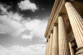 Greek pillars — Stock Photo