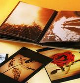Photo album — Stock Photo