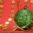 Royalty-Free Stock Photo: Great christmas globe - Close up