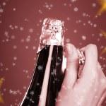 Opening champagne bottle — Stock Photo #2526770