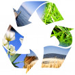 Recycle teken — Stockfoto